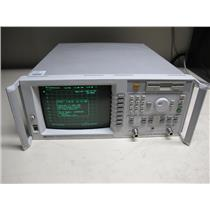 HP Agilent 8714ET RF Network Analyzer w/ opt. 1E1, Calibrated