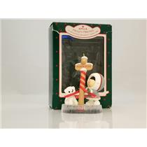 Hallmark Keepsake Series Ornament 1988 Frosty Friends #9 - #QX4031-DB