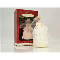 Hallmark Series Ornament 1997 Nostalgic Barbie #4 - Wedding Day Barbie - QXI6812