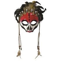 Forum Novelties Voodoo Witch Face Mask Costume Accessory