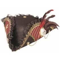 Lady Buccaneer Tricorn Detailed Woman's Pirate Hat