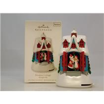 Hallmark Series Ornament 2010 Kringleville #1 - Kissmas Cottage - #QX8633-DB