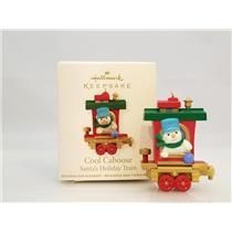 Hallmark Miniature Ornament 2011 Cool Caboose - Santa's Holiday Train - #QRP5919