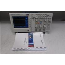 Tektronix TDS2001C Digital Storage Oscilloscope, 50 MHz, 2-Ch, 500 MS/s