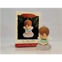 Hallmark Series Ornament 1993 Mary's Angels #6 - Ivy - (Joy) - #QX4282-DBNT