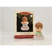 Hallmark Series Ornament 1993 Mary's Angels #6 - Ivy - (Joy) - #QX4282-DB