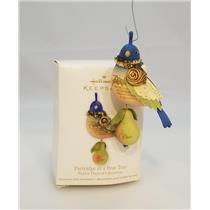 Hallmark Ornament 2011 Twelve Days of Christmas Partridge in a Pear Tree 8919-DB