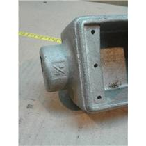 Crouse Hinds FSLA2 Conduit Box 3/4In Diameter