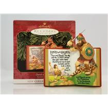 Hallmark Series Ornament 1999 Favorite Bible Stories #1 David and Goliath QX6447