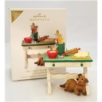 Hallmark In-Store Event Ornament 2012 Mrs Claus's Kitchen Table - #QMP5035