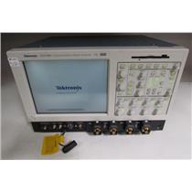 Tektronix CSA7404 Comm. Signal Analyzer 4GHz, opt JA3, ET3, JT3, 3 TCA-BNC
