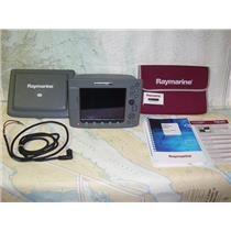 Boaters' Resale Shop of TX 1807 0245.01 RAYMARINE CLASSIC E80 MULTI NAV DISPLAY