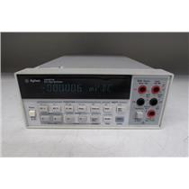 HP Agilent 34401A Digital Multimeter, 6½ Digit