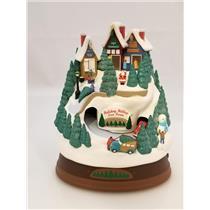 Hallmark Keepsake Magic Ornament 2009 Holiday Hilltop Tree Farm - #QXG6002-NOBOX