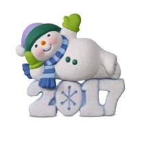 Hallmark Keepsake Series Ornament 2017 Frosty Fun Decade #8 - #QX9325