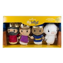 Hallmark Itty Bittys Wise Men Plush Collectors Set - Wise Men & A Sheep #KDD1092