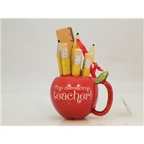 Hallmark Direct Imports Ornament One Awesome Teacher - Not Dated - #HGO1582
