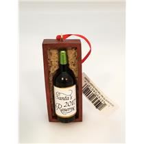 Hallmark Direct Imports Ornament Santa 2017 Reserve - Wine Bottle - #HGO1572