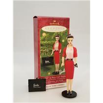 Hallmark Series Ornament 2001 Nostalgic Barbie #8 - Busy Gal Fashion - #QX6965