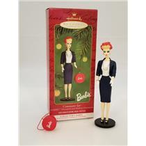 Hallmark Series Ornament 2000 Nostalgic Barbie #7 - Commuter Set - #QX6814