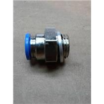 Festo 186099 E1P2 QS-G1/4-8 (Lot Of 3) Push In Fitting