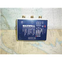 Boaters Resale Shop of TX 1805 1747.12 MAXWELL P19045 12/24V DUAL SOLENOID