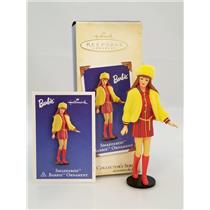 Hallmark Series Ornament 2004 Nostalgic Barbie #11 - Smasheroo Barbie - #QX8591