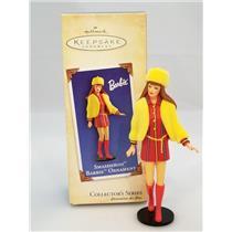Hallmark Series Ornament 2004 Nostalgic Barbie #11 - Smasheroo Barbie 8591SDBNMC