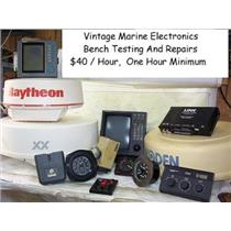 BOATERS' RESALE SHOP OF TEXAS MARINE ELECTRONICS BENCH TESTING & REPAIR