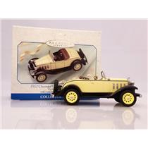 Hallmark Ornament 1999 Vintage Roadsters #2 - 1932 Chevy Sports Roadster 8379SDB