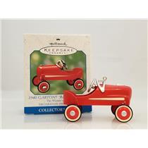 Hallmark Ornament 2000 The Winners Circle #4 - 1940 Garton Red Hot Roadster 8404