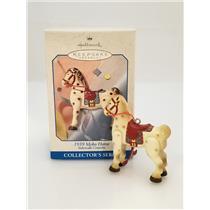 Hallmark Series Ornament 1998 Sidewalk Cruisers #2 - 1939 Mobo Horse - #QEO8393