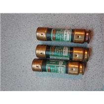 Bussman Fusetron FRN-R-45 45Amp 250Volt\ Class RK5 Fuses Lot of 3