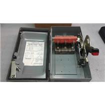 SquareD HU361AWK Safety Switch 30A 600V