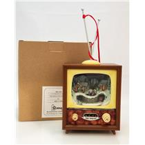 "Roman Inc Amusements 5.5"" TV with Rotating Train - Light, Sound & Motion - 36433"