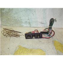 Boaters Resale Shop of TX 1207 0125.01 AQUA AIR 3 KNOB AC CONTROL ASSEMBLY