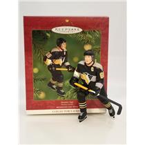 Hallmark Ornament 2001 Hockey Greats #5 - Jaromir Jagr - Penguins - #QXI6852