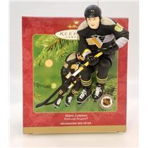 Hallmark Ornament 2001 Mario Lemieux - Pittsburgh Penguins Hockey Greats QXI6155