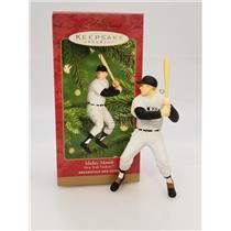 Hallmark Keepsake Ornament 2001 Mickey Mantle - New York Yankees - #QXI6804