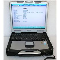 Panasonic ToughBook CF-30C Core Duo 4GB 120GB SSD Bluetooth Touch Laptop 250 HRS