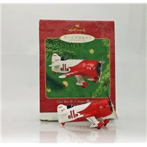 Hallmark Ornament 2001 Sky's the Limit #5 - Gee Bee R-1 Super Sportster - QX8005