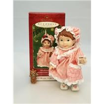 Hallmark Keepsake Series Ornament 2001 Mistletoe Miss #1 - Porcelain - #QX8092