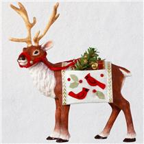 Hallmark Keepsake Limited Ornament 2018 Father Christmas's Reindeer - #QXE3203