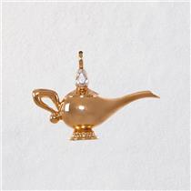 Hallmark Miniature Ornament 2018 Genie's Lamp - Disney's Aladdin -  #QXD6313