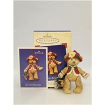 Hallmark Series Ornament 2003 Gift Bearers #5 - Porcelain Bear - #QX8239