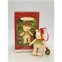 Hallmark Series Ornament 2000 Gift Bearers #2 - Porcelain Bear - #QX6651-SDBWC