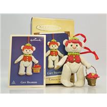 Hallmark Series Ornament 2002 Gift Bearers #4 - Porcelain and Jointed QX8883-SDB