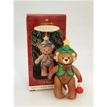 Hallmark Series Ornament 1999 Gift Bearers #1 - Porcelain Teddy Bear #QX6437-DB