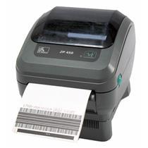Zebra ZP 450 ZP450-0201-0000A Direct Thermal Barcode Label Printer Network Peel