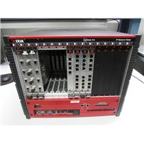 IXIA X16 Optixia, high performance chassis, IxOS 5.60, Win2k, w/ 7 modules